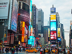 Der Times Square in New York