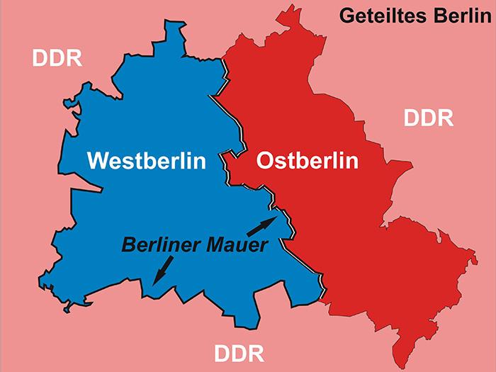 West Und Ost Berlin
